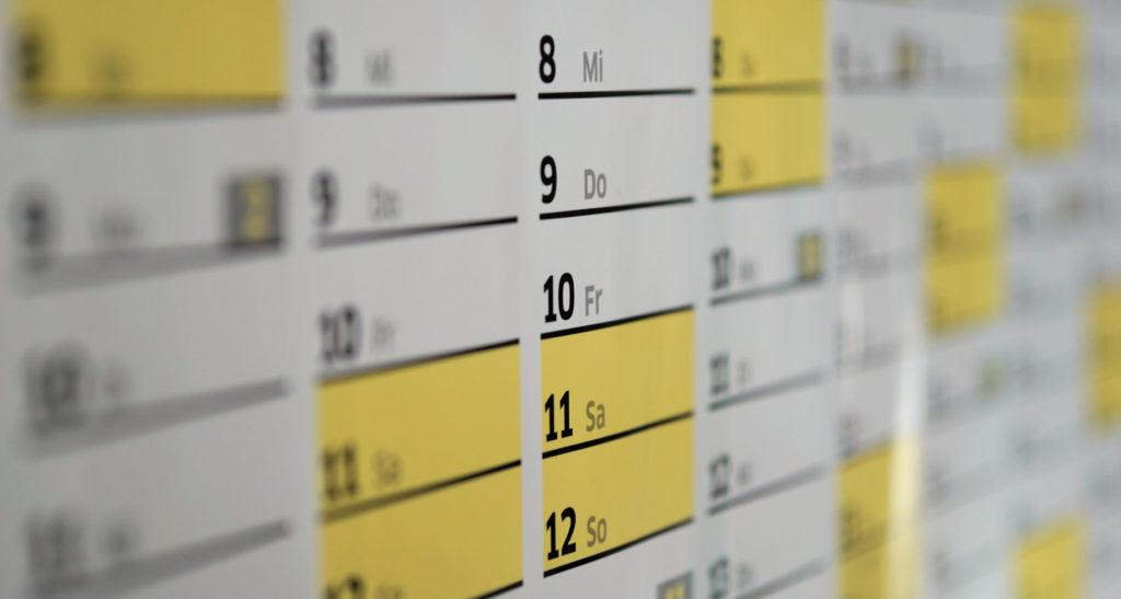 Buchungsystem Testen Drei Monate