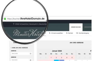 Hotelbuchungen Online Eigene Domain